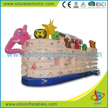 GMIF6237 Nursery school used cute type animal inflatable toy boat