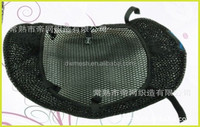 Finished 3D air mesh fabric motorcycle seat covers ,Respirable micro orificio tela malla