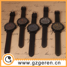 2015 big dial watches for men relojes for men, mens sports watches