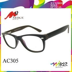 Metal hardware frame eyewear glasses,brown frame glasses,injection optics