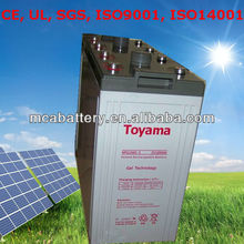 Good Quality Solar Energy Storage Battery Solar Panel Battery 2V 1000Ah