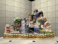 2014 SJ AR006 Factory price artificial rock/artificial rock waterfall/fiberglass rock for garden artificial landscape stone