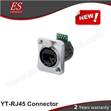China Hot Sell Rj45 8p8c Adapter For Audio Amusement