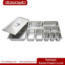 823-40 stainless steel food container rectangular with lid