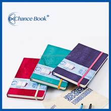 Hot Stamp PU Leather For Diary Cover