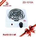2015 viajes de alta calidad de la bobina caliente placa 1000w eléctrica fondue de mantener la comida caliente bandeja