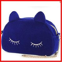 2015 women's rabbit fur ball bags mobile phone bag embroidery animal shaped handbag vintage shopping handbags hot selling