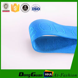 Wide Jacquard Rubber Band With Factory Supply