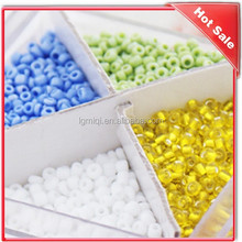Decorative Colorful Glass Seed Beads in bulk For Jewlery DIY