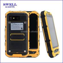 Optional NFC rugged mobile phone made in china 3g Waterproof IP-67 dual sim A8