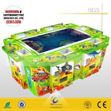 Slot fish video game consoles IGS fishing game Dragon King machine with 55'' HD screen 6/8 player model factory supplier