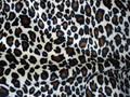 Urdimbre de terciopelo suave 100% de poliéster spandex o animal print tela de terciopelo