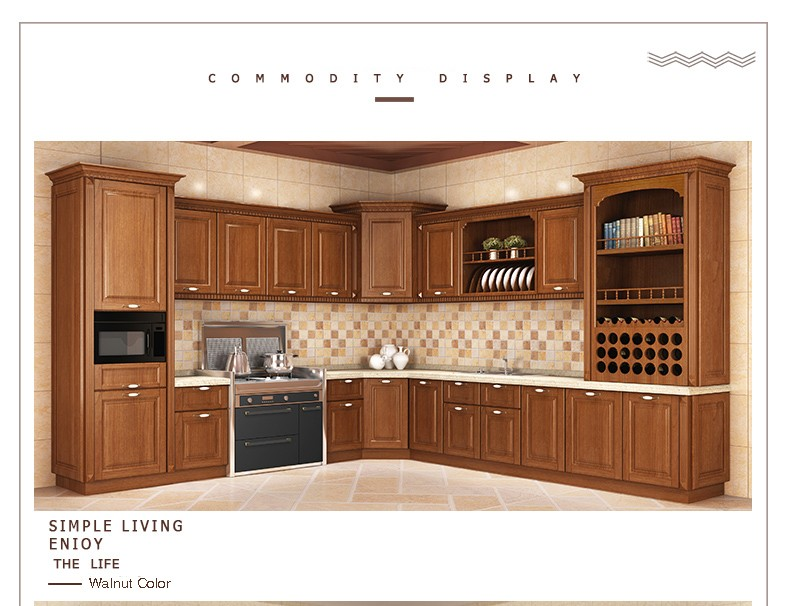 GSP9-099 Nuevo Estilo Modular Diseños De Gabinete de Cocina de ...