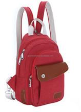 Backpack Chest Ladle One Shoulder Inclined Shoulder Bag DNBG2BP024 Female Canvas Bag