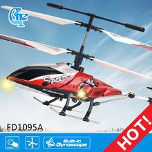 Helicóptero ultraligero fd1095a, rc helicóptero con batería de larga vida
