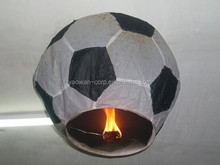 Supply creative football shape fashion Wishing lanterns / kongming sky lantern