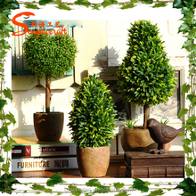 popular artificial pot tree decorativ indoor artificial pot tree