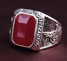 latest custom fashion ruby rings for men,beautiful mans ring