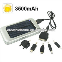3500mAh Solar Energy Charger for iPhone / iPad / iPod Touch, MP3 / MP4, Digital Camera and other Mobile Phone
