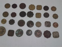 British old coins collection