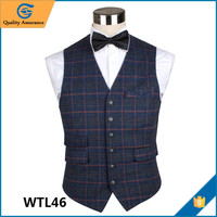 Fashion Design Formal Casual Wool Vest Men