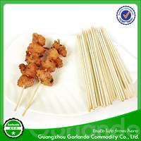 Disposable Wholesale Long Round Bamboo Barbecue Sticks
