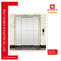 Four Panels Elevator Landing Door Folding and Telescopic