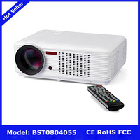 High end KM-1000 4000 Lumens 1024*768 LED home projector KTV commercial training and teaching projector