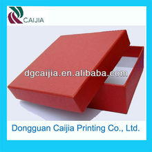 2012 fashion red colorful paper gift box