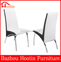 the newest style modern leather and chorme synthetic leather chair