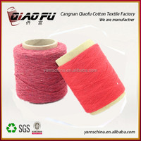 China supplier recycled carpet yarn, knitting yarn, spaghetti yarn