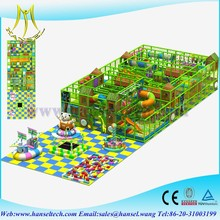 Hansel kids electric indoor play castle soft foam indoor playground