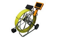 50mm commercial plumbing inspection camera with small mirror for pipe quality control
