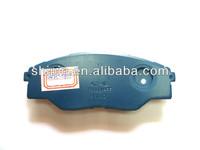best oem 04465-0K290 front car brake pad hi-q for toyota