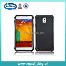 Wholesale alibaba custom rugged hybrid combo case for samsung galaxy note 3