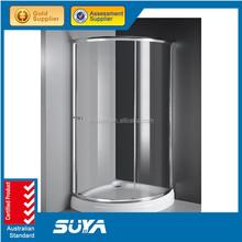 Hot sale certified sliding shower stall
