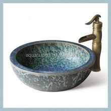 Foshan Oem&Odm Japanese hand painted ceramic small bathroom sinks corner
