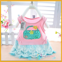 Kids cotton frocks design children dress baby dress pictures 2 years old girl dress