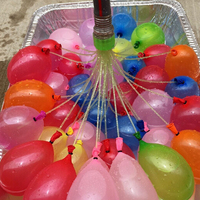 Wholesale high quality 111pcs Magic Water Balloons kids toys Bunch o Already tied balloons minute 3 Packs
