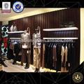 Moda mujer ropa de tienda de muebles, de metal exhibición de la tienda accesorios para prendas de vestir