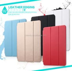 High quality USAMS Brand Muge Series Ultra-Slim pu Leather Case with window case For ipad mini3