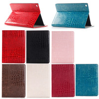 Factory Price PU Leather Crocodile Wallet Case for iPad Pro,For iPad Pro Wallet Leather
