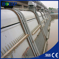 Automatic bar screen for sewage solid-liquid separation
