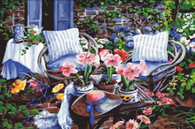 Home decorative panorama picture rose flower painting by numbers