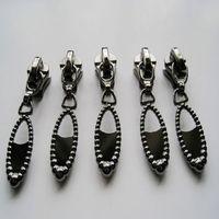 metal zip slider for bag