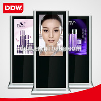 Indoor Retail Store Wifi/3G Android Floor Stand 55 Inch Advertising Lcd Display/Digital Signage
