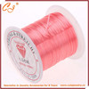 TPU Elastic Cord for Bracelet Making ,Transparent Thin Elastic Strings Light Pink 0.5-1MM