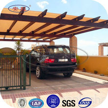 ANLI PLASTIC uv protection aluminum carports with polycarbonate sheet roof