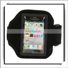 HOT! Black 3G 3GS Nylon Sports For iPhone Armband Case