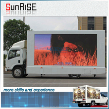 p6 p8 p10 rental led display video screen /led truck display, p6 p10 led display mobile trailer with Nova controll system